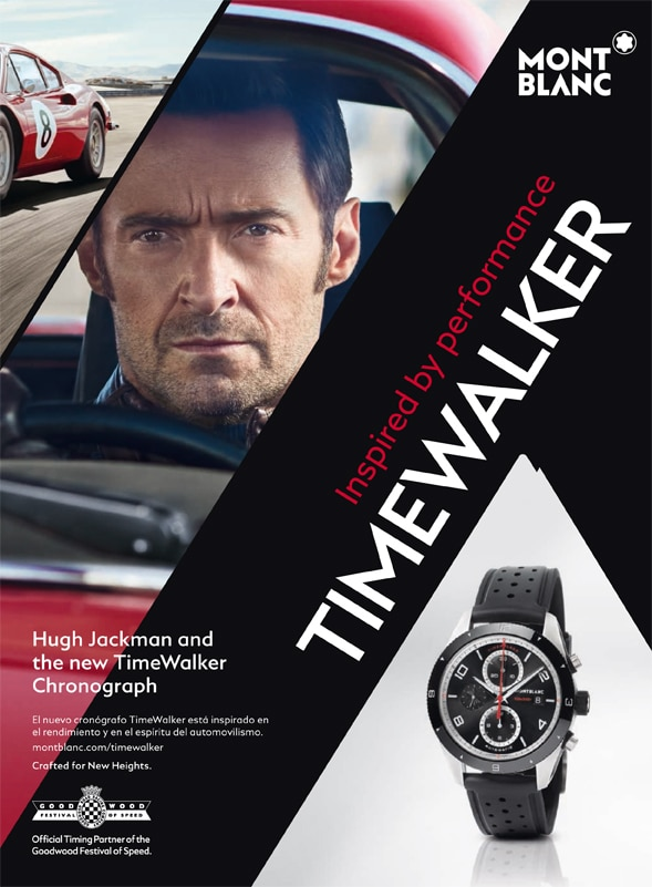 RELOJES: MONTBLANC – Hugh Jackman presents the new Montblanc TimeWalker collection