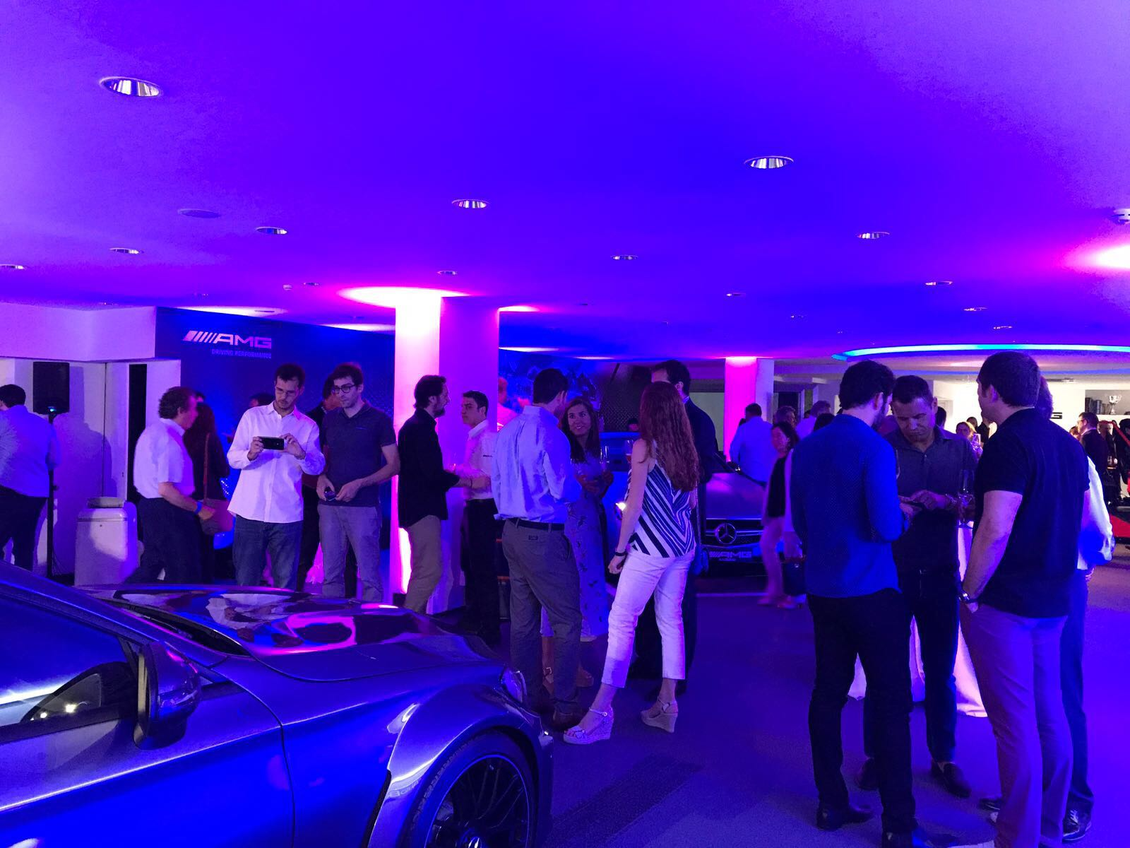 EVENTOS: GOURMET – JUBANY EVENTS – Presentació club The One de Mercedes-Benz