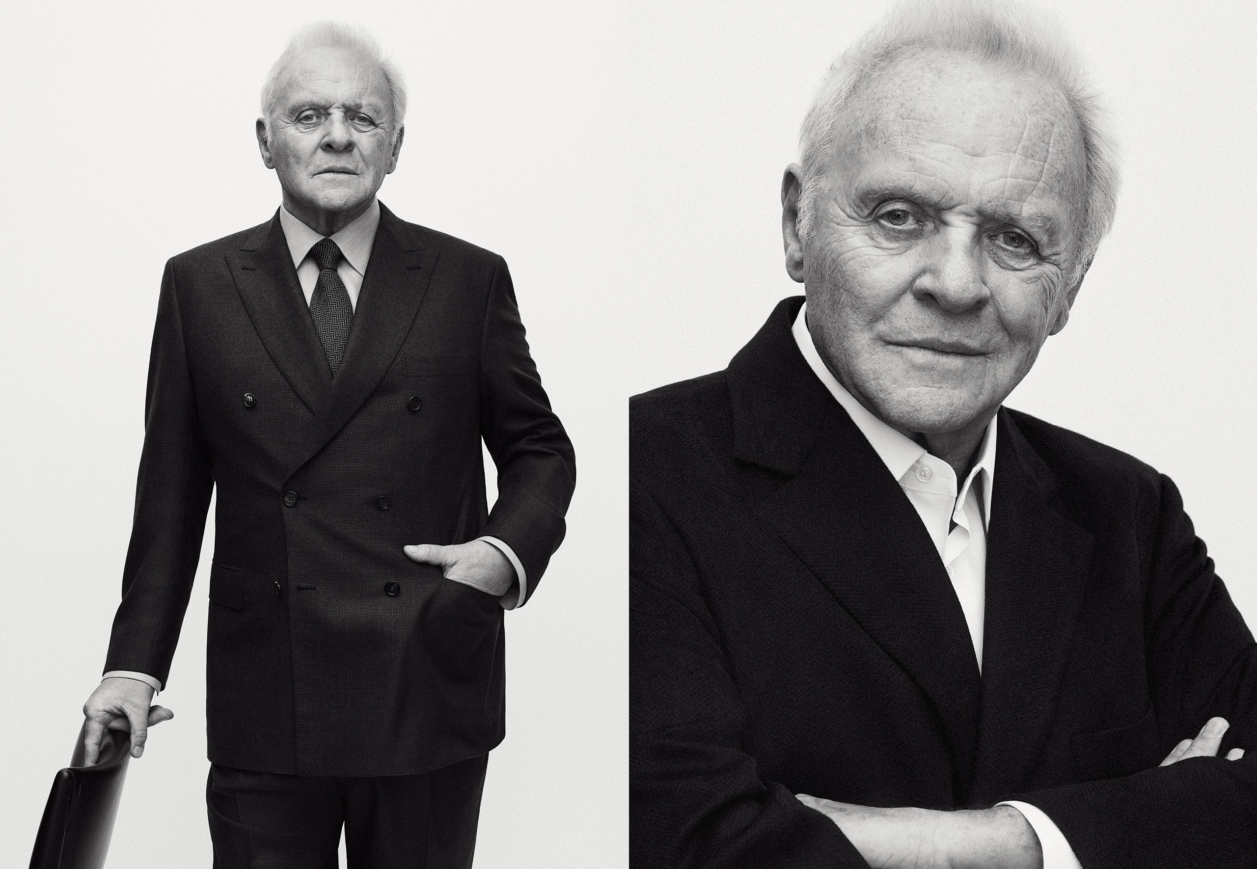 MODA: BRIONI – SIR ANTHONY HOPKINS PARA BRIONI