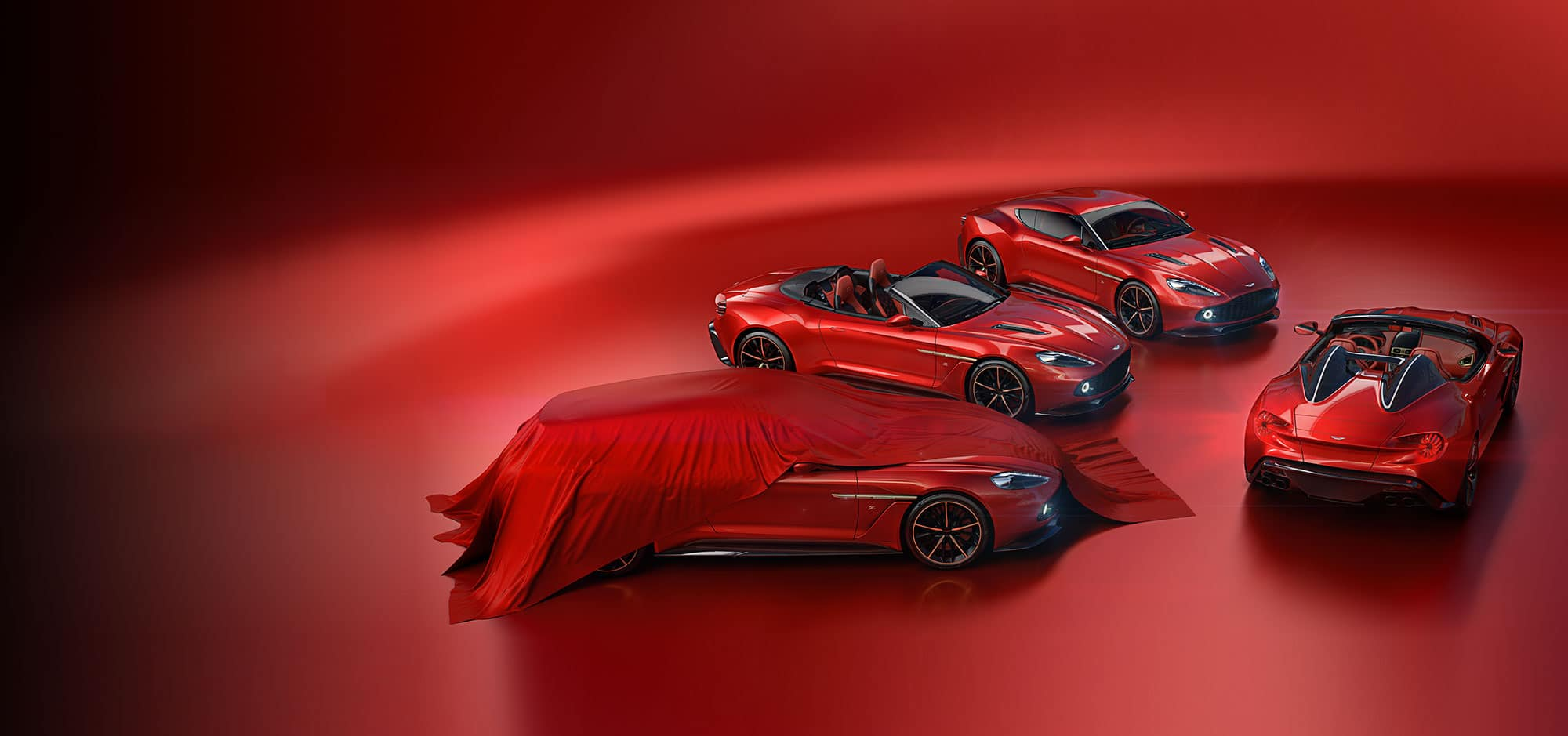 MOTOR: ASTON MARTIN – THE VANQUISH ZAGATOS – Limited Edition