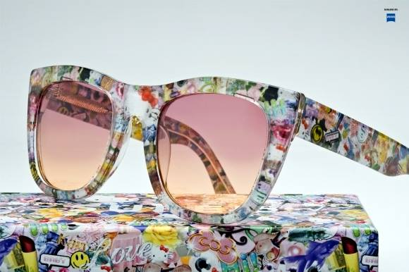 MODA: Gafas de sol Super & Hello Kitty Stylin Together