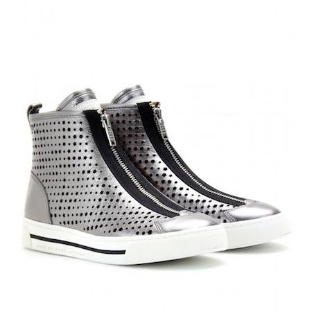 MODA: Zapatillas de cuero perforado Marc by Marc Jacobs Starstruck