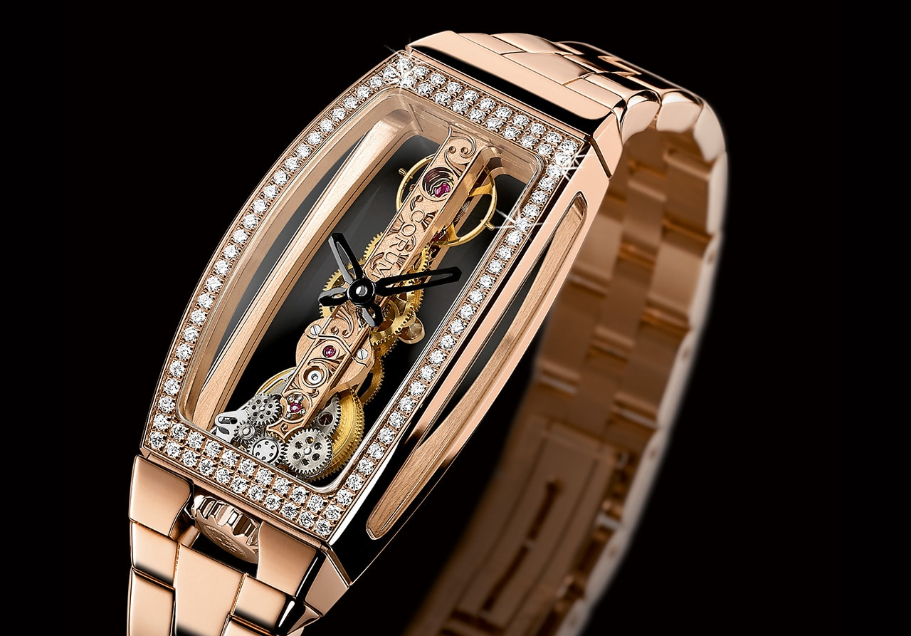 RELOJES: CORUM Impresionante!!! Golden Bridge