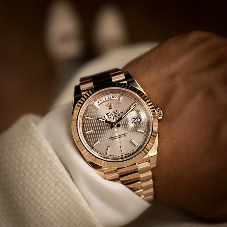 RELOJES: ROLEX – Oyster perpetual day date 40