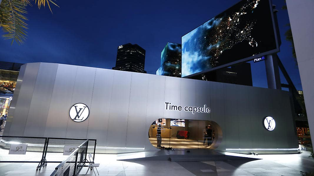 "MODA: EXHIBICIÓN LOUIS VUITTON ""TIME CAPSULE"" EN BANGKOK"