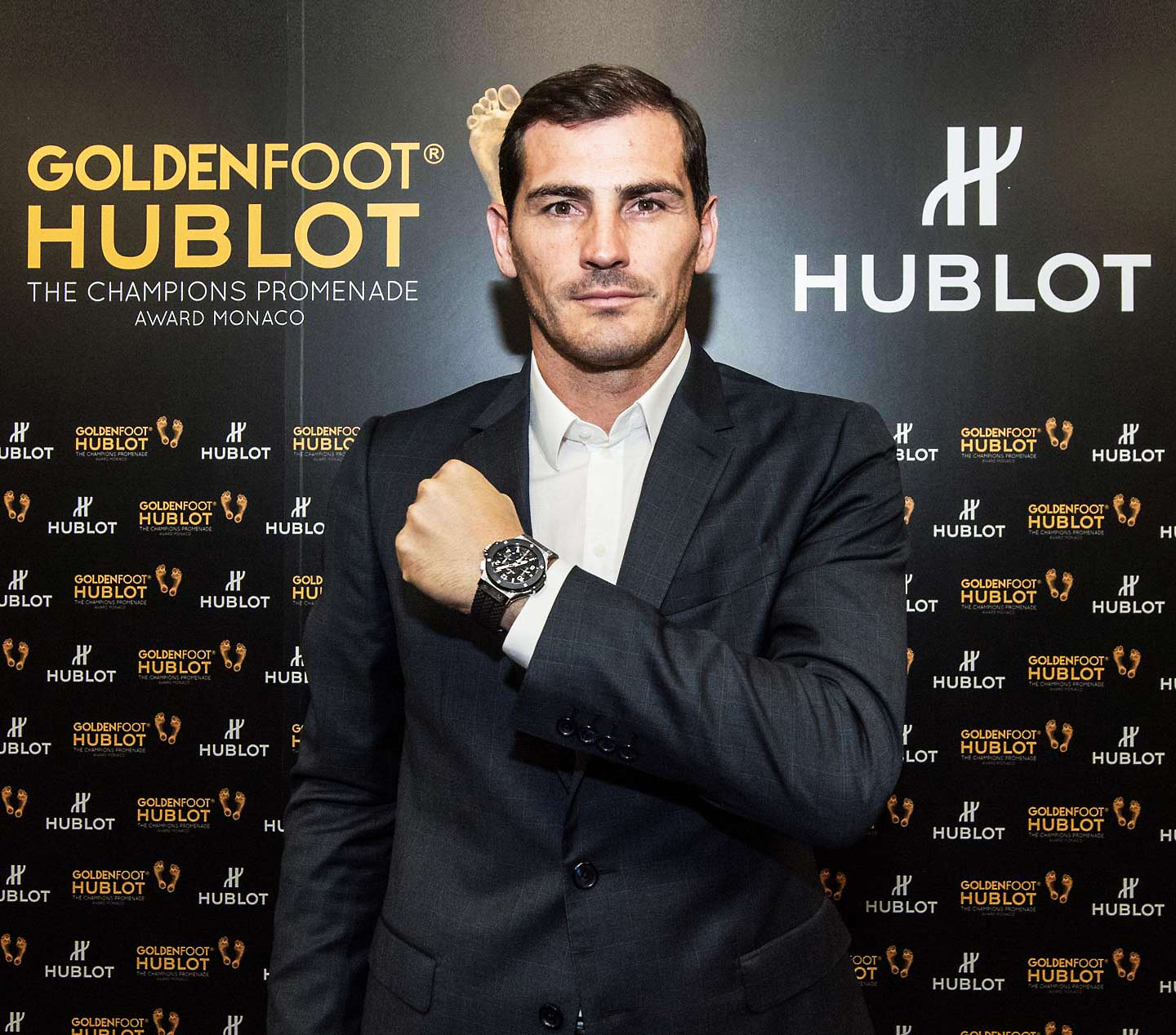 EVENTO: Iker Casillas gana el Hublot Golden Foot
