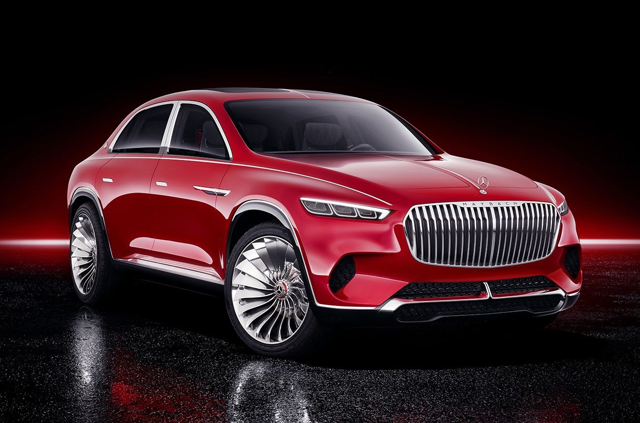 MOTOR: Vision Mercedes Maybach ultimate luxury