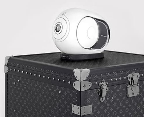 TECNOLOGY: Devialet, The DJ Trunch with Louis Vuitton