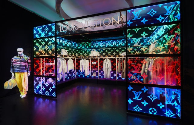 El primer pop-up de Louis Vuitton London de Virgil Ablo