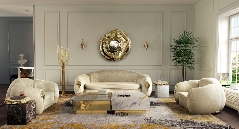 Luxury Home: Living Room Decor 2019 trends Luxury Home: Living Room Decor 2019 Trends Luxury Home Living Room Decor Trends 8