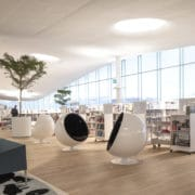 Una oda a la literatura Oodi Central Library de ALA Architects