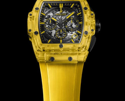 HUBLOT Spirit of Big Bang Yellow Sapphire 42mm, todo un Reloj de Lujo