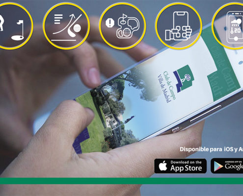 APP de golf del Club de Campo Villa de Madrid