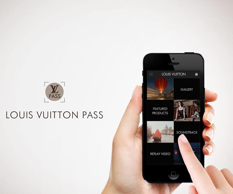 La aplicación Louis Vuitton Pass