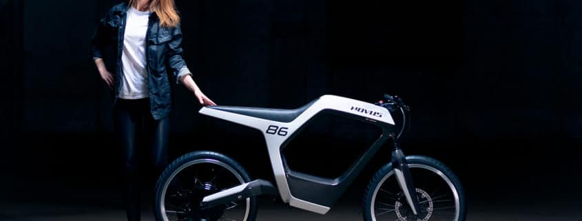 moto eléctrica y bici Novus