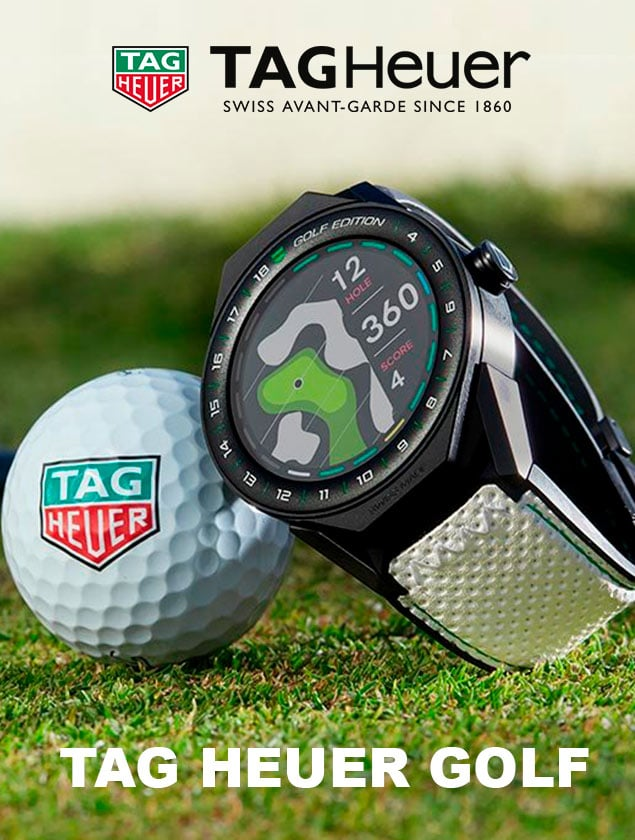 DESCUBRA TAG HEUER GOLF
