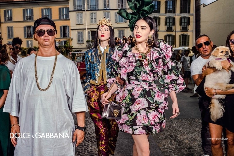 DOLCE GABBANA Primavera 2019, por Bruce Gilden, Alex Mojali, Alessadro y Luca Morelli