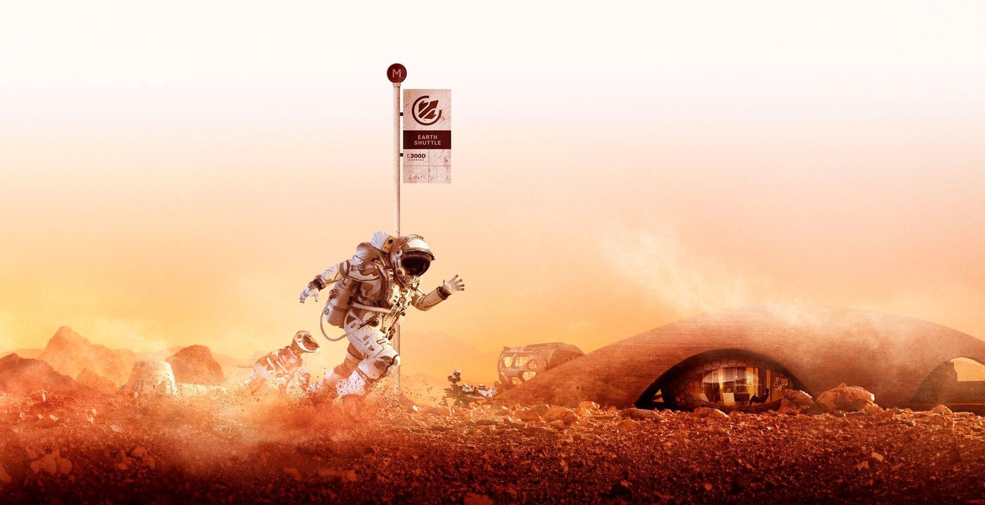 Mudarse a Marte en el Museo del Diseño