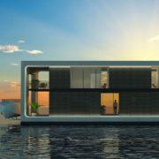 ARKUP - Casa flotante autosuficiente, sostenible y respetuoso con el medio ambiente.