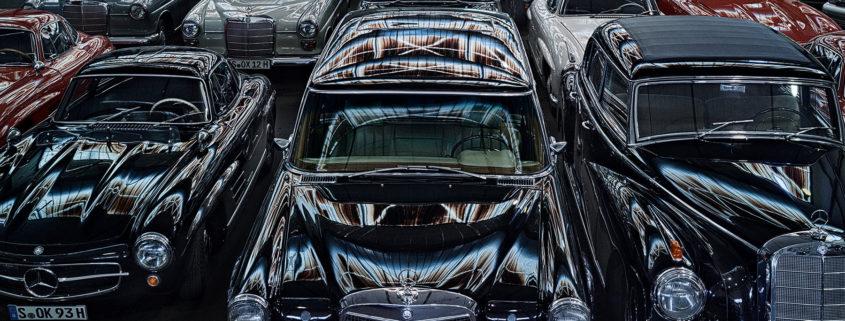 Las cámaras del tesoro de Mercedes-Benz