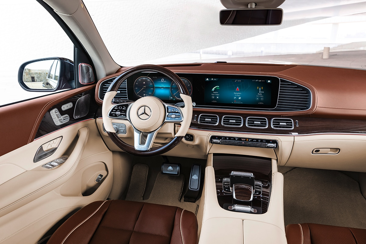 Mercedes-Maybach GLS INTERIOR