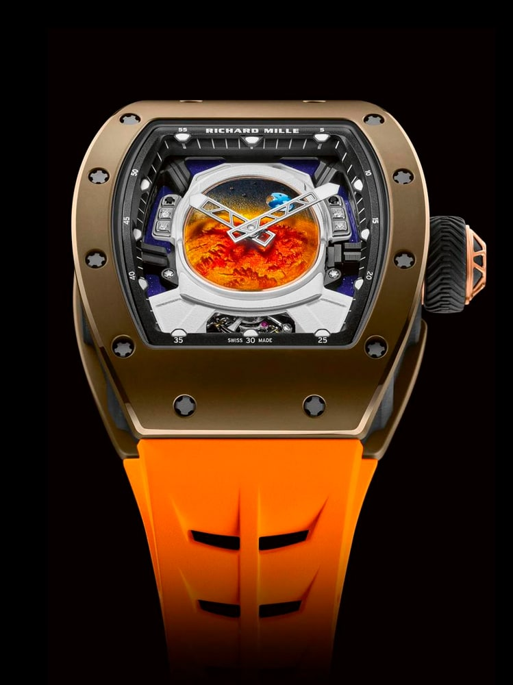Tourbillon Pharrell Williams Richard Mille RM-52