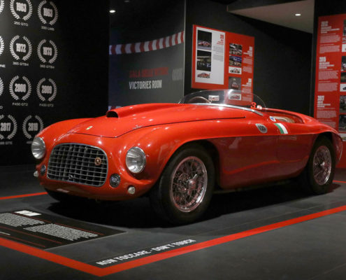 Le Mans success story on display at Ferrari Museum