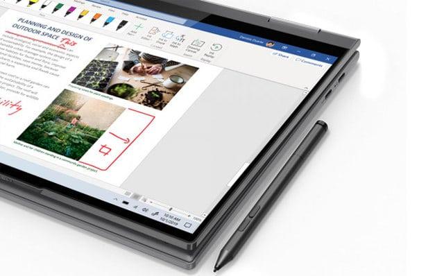 Lenovo Yoga 5G, Versatilidad y Táctil