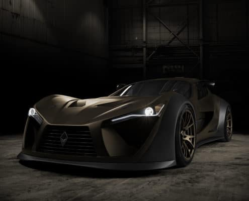 FELINO a great luxury supercar