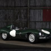 1955 JAGUAR D-TYPE RACE CAR