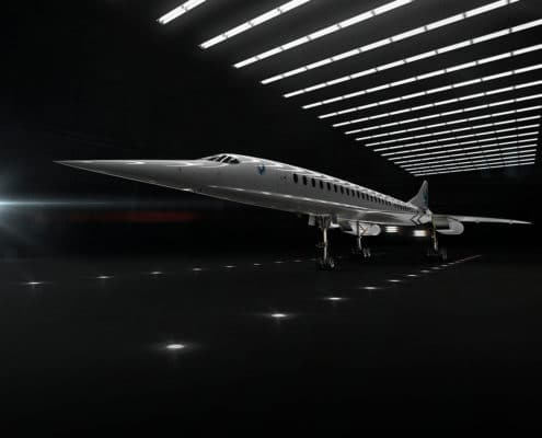 avion supersonico Boom Supersonic