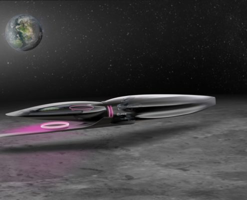 LEXUS CREATES MOON MOBILITY CONCEPT SKETCH FOR LUNAR DESIGN PORTFOLIO
