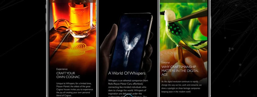 ROLLS-ROYCE WHISPERS: A DIGITAL WORLD OF CURATED LUXURY
