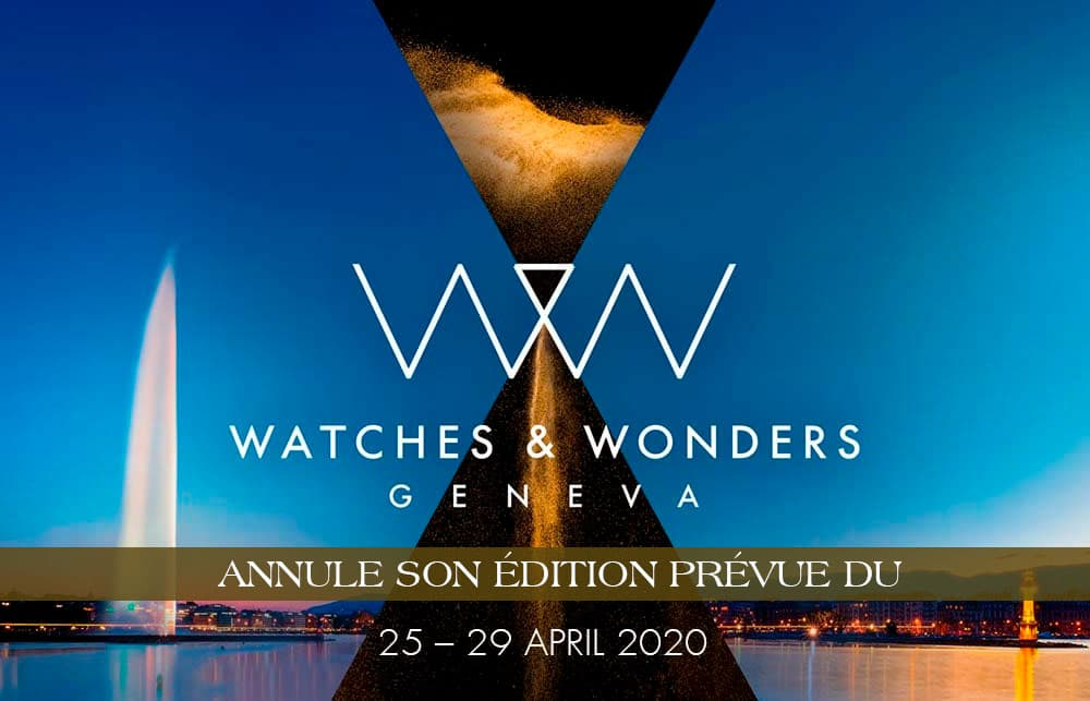 Watches & Wonders Geneva EX SIHH 2020 CANCELADO!