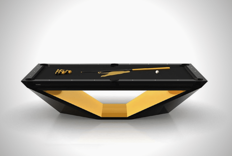 11 RAVENS X ROLLS-ROYCE STEALTH POOL TABLE
