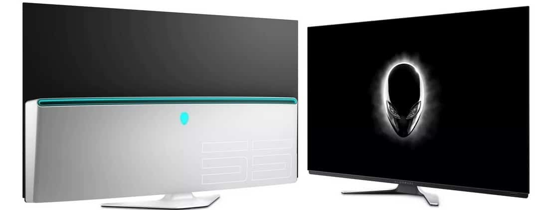 vNew Alienware 55 OLED Gaming Monitor - AW5520QF