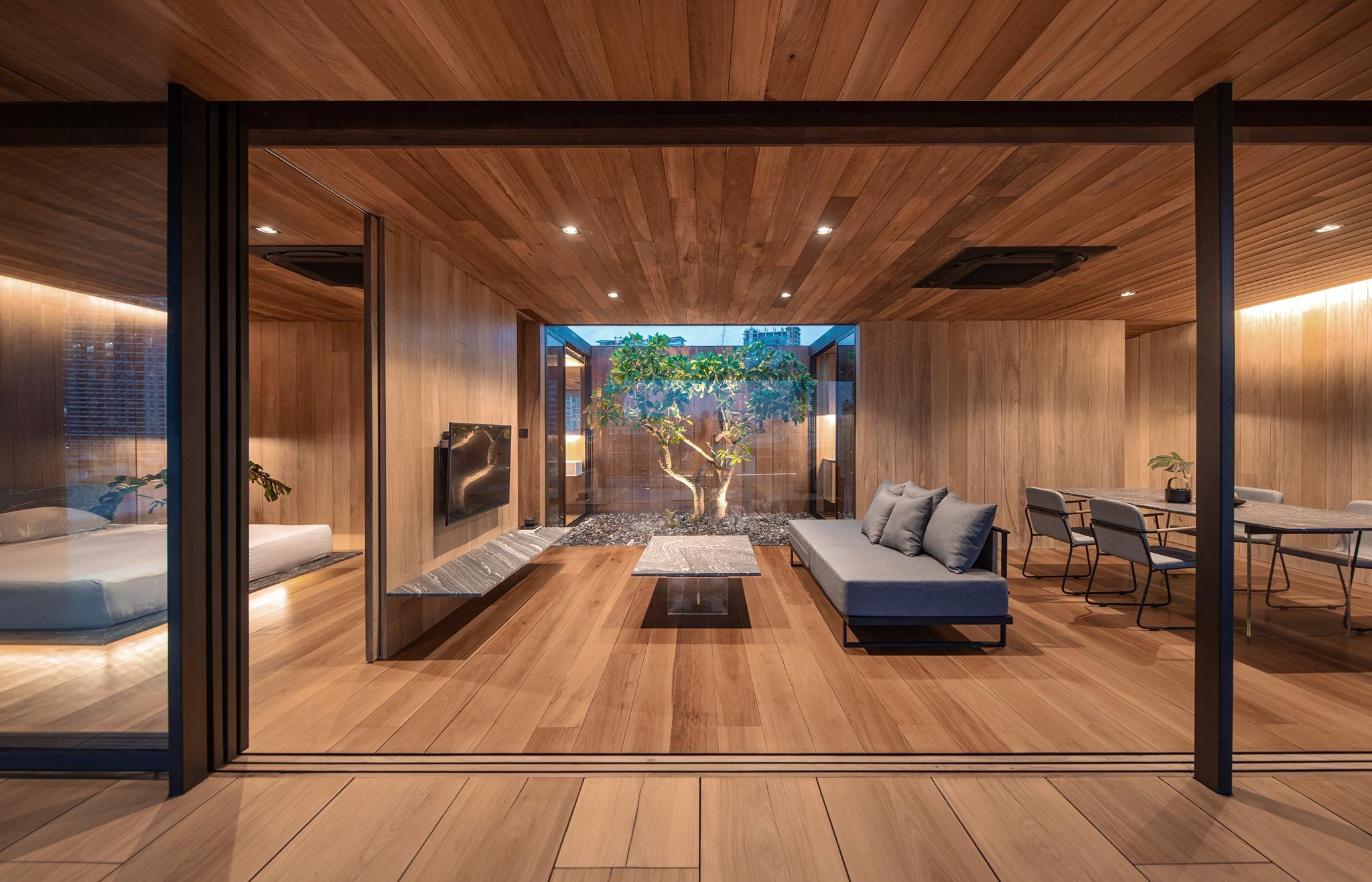 Casa privada de lujo