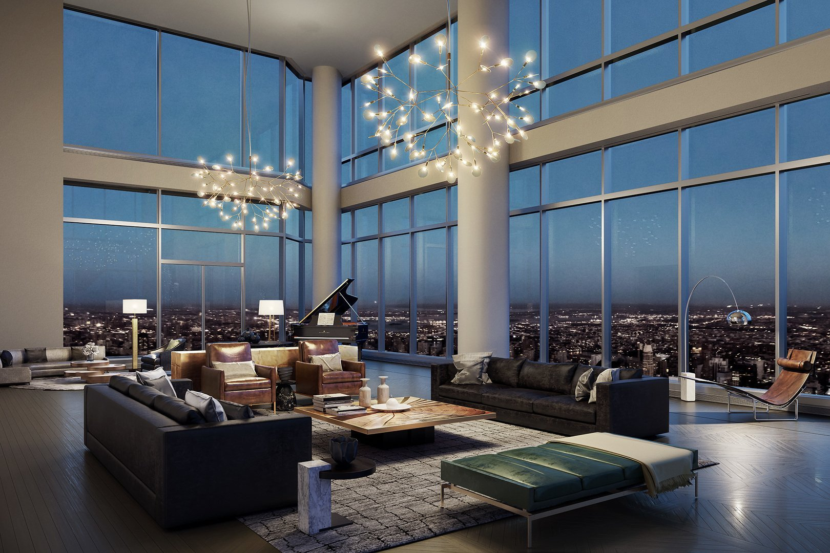 Residencia multimillonaria en Central Park Tower