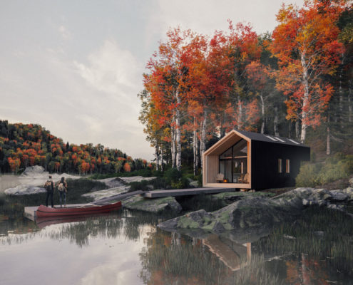 THE BACKCOUNTRY HUT COMPANY – BHC MODULAR System 01