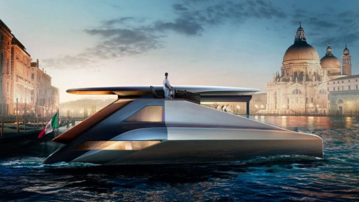 Fibonacci, the 200 kW electric super asymmetric catamaran
