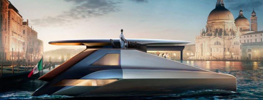 Fibonacci, the 200 kW electric super asymmetric catamaran