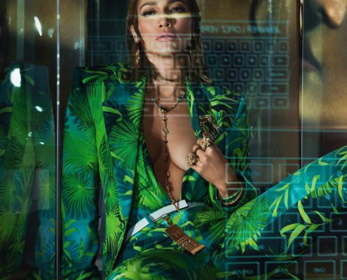 JENNIFER LOPEZ – VERSACE – THE SPRING-SUMMER 2020 CAMPAIGN