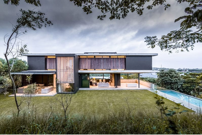A New Contemporary House In Durban Is Surrounded By A Coastal Forest