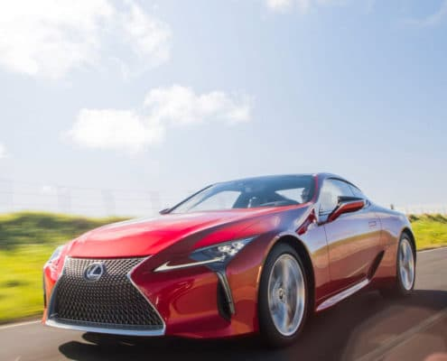 LEXUS REVEALS THE 2021 LC COUPE: AN EVOLUTION OF LUXURY MOTORING