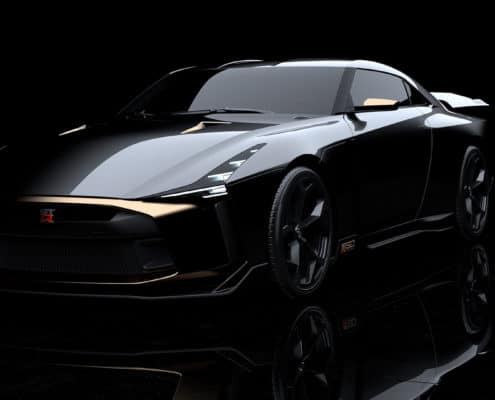 GT-R50 BY ITALDESIGN A no-limits reimagining of the Nissan GT-R.