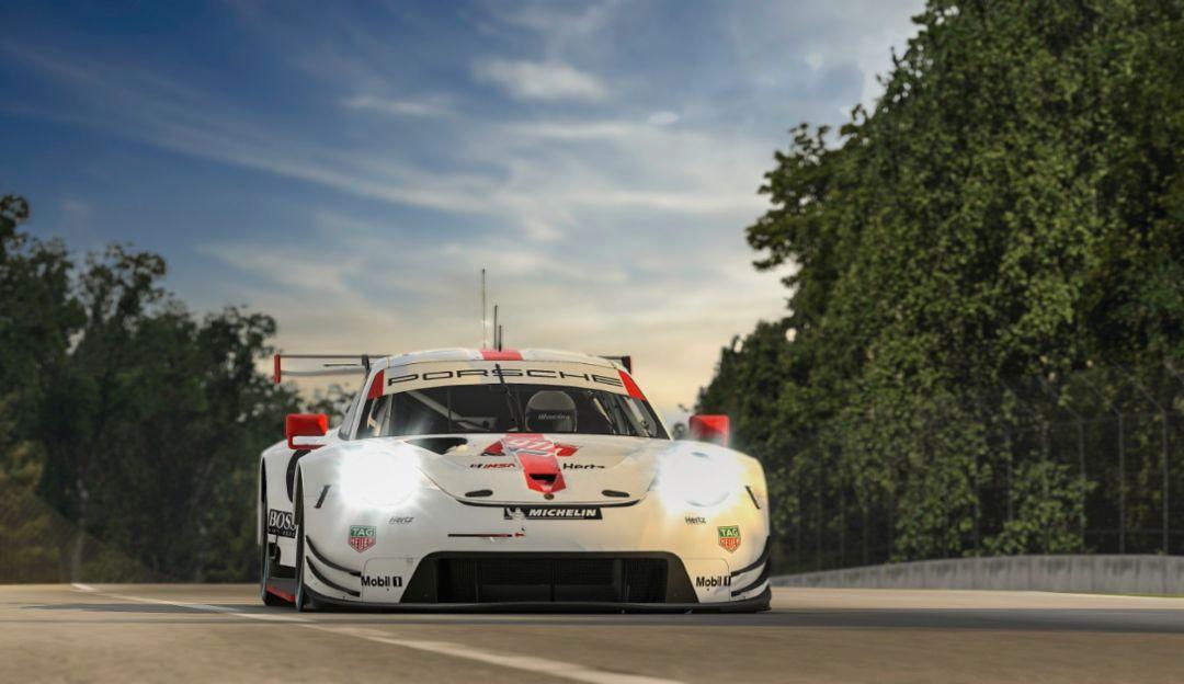 El equipo Porsche Esports, puente entre la competición real y virtual
