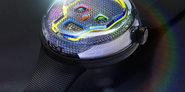Luxury Watch - HYT Soonow Instant Rainbow