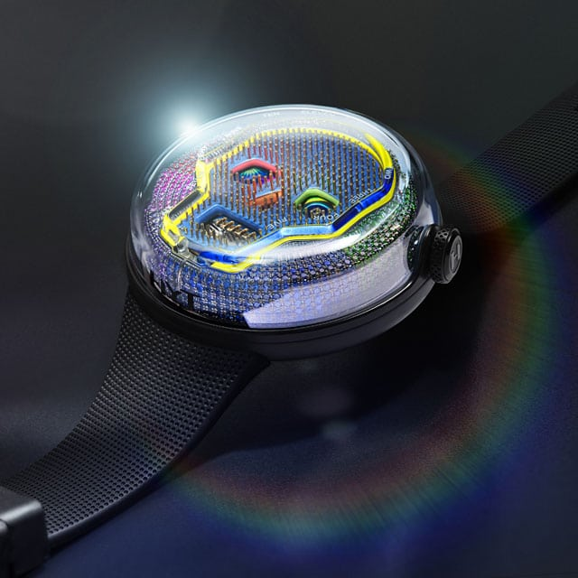 Luxury Watch – HYT Soonow Instant Rainbow