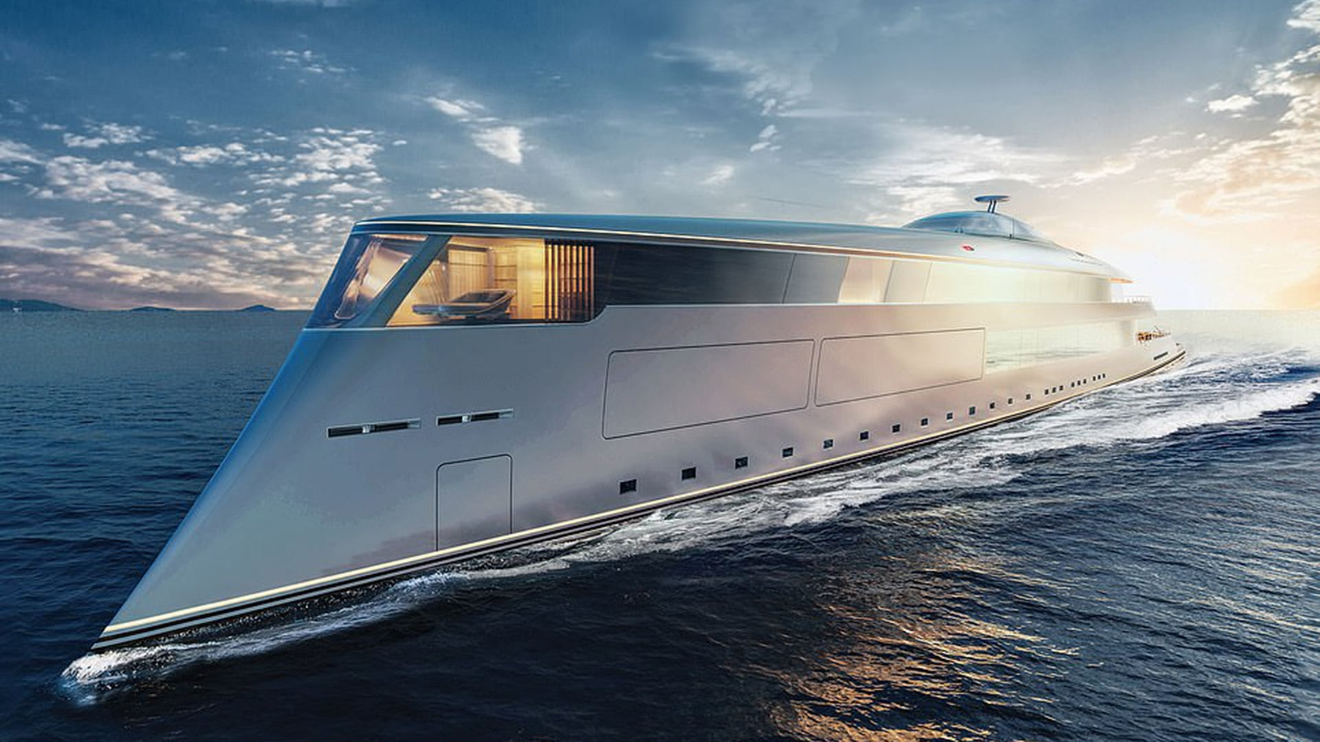 Aqua, The Magnificent Hydrogen-Powered Superyacht Of The Future