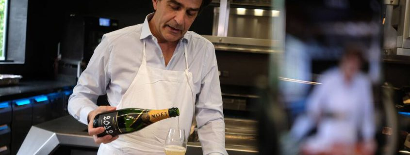 The Perfect Match: new Moët & Chandon series inspires the art of pairing champagne and food